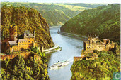 Das Felsental der Loreley