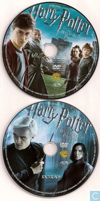 harry potter and the halfblood prince dvd catawiki