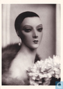 Mannequin Portrait with Flowers c. 1929