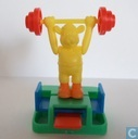 Weightlifter (yellow)