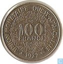 West African States 100 francs 1972