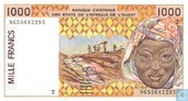 West African States 1000 Francs
