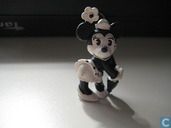 Minnie Mouse in black white