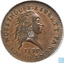 United States 1 cent 1792 (pattern)