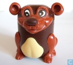 Bear piggy bank