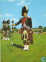 scottish drum major