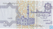 Egypte 25 Piastres 2004, 9 december