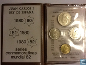 Spanien Kombination set 1980