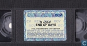 DVD / Video / Blu-ray - VHS video tape - End of days