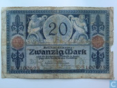 Germany 20 Mark 1913