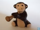 Monkey with flute