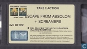 DVD / Video / Blu-ray - VHS video tape - Escape from Absolom + Screamers