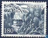 Postage Stamps - Norway - Trees