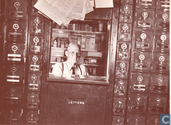 General store owner in his post office section, Lincoln, Vermont (1940)