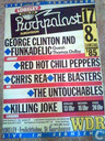 Red Hot Chili Peppers Rockpalast Poster 1985