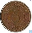 Maurice 5 cents 1971