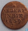 Dutch East Indies 2 cent 1839  (J)