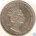 Turks and Caicos Islands 5 crowns 1993