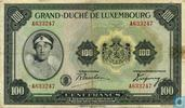 Luxembourg 100 Francs