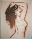 Betty Page pin up art