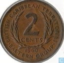 British Caribbean Territories 2 cents 1960