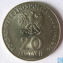 "Poland 20 zlotych 1974 ""25th Anniversary of the Comecon"""