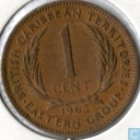 British Caribbean Territories 1 cent 1963