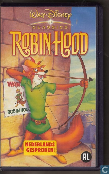 Robin Hood Vhs Video Tape Catawiki