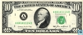 United States 10 dollars 1985 A