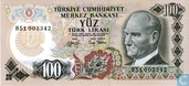 Turkey 100 Lira ND (1979/L1970)