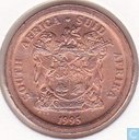 South Africa 5 cents 1995