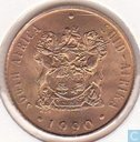 South Africa 2 cents 1990