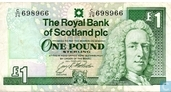 Scotland 1 Pound Sterling 1993