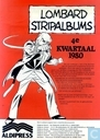 Lombard stripalbums 4e kwartaal 1980