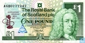 Scotland 1 Pound Sterling 1997