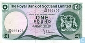 Scotland 1 Pound Sterling 1980