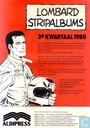 Lombard stripalbums 3e kwartaal 1980