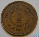 Straits Settlements 1 cent 1888
