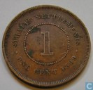 Straits Settlements 1 cent 1889