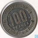 Central African Republic 100 francs 1983