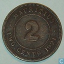 Maurice 2 cents 1921