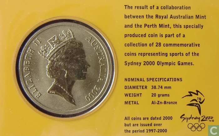 sydney 2000 olympic coin gymnastics games - photo#6