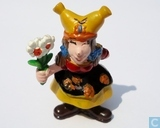 Small Gnome with flowers
