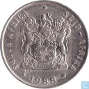 South Africa 10 cents 1988