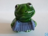 Frog with accordion