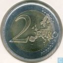 "Munten - Spanje - Spanje 2 euro 2009 ""10th anniversary of the European Monetary Union"" (grote sterren)"