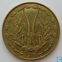 West African States 10 francs1970