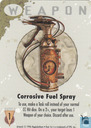Corrosive Fuel Spray