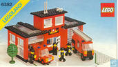 Lego 6382 Fire Station