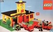 Lego 374-1 fire station